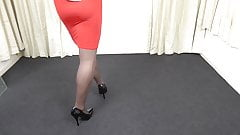 Roter Rock und Pantyhose.mp4